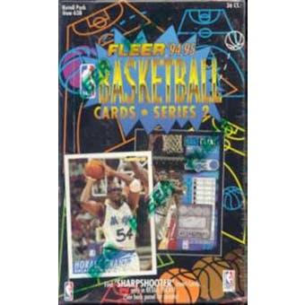 1994/95 Fleer Series 2 Basketball 36 Pack Box