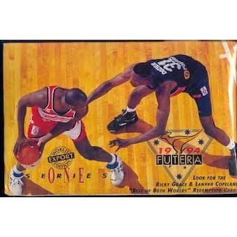 1994/95 Futera Austrailian Series 1 Basketball Hobby Box