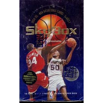 1994/95 Skybox Premium Series 1 Basketball Hobby Box