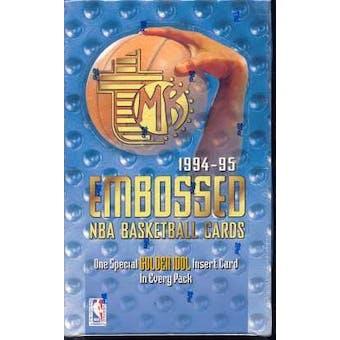 1994/95 Topps Embossed Basketball Hobby Box