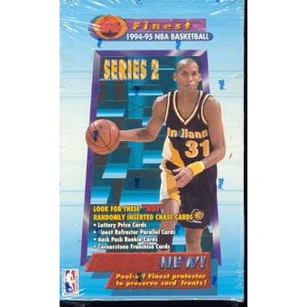 1994/95 Topps Finest Series 2 Basketball Hobby Box