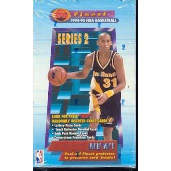 1994/95 Topps Finest Series 2 Basketball Hobby Box