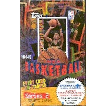 1994/95 Topps Series 2 Basketball Hobby Box