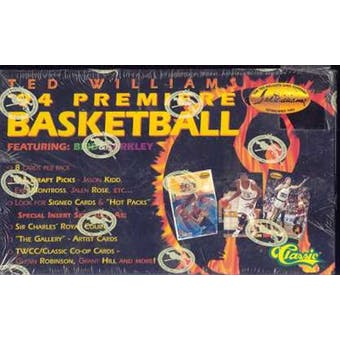 1994/95 Ted Williams Basketball Hobby Box