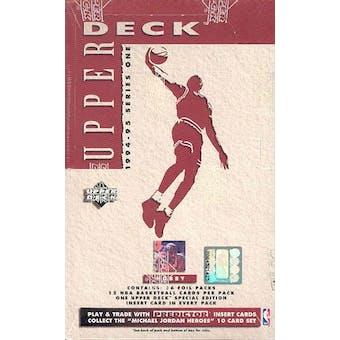 1994/95 Upper Deck Series 1 Basketball Hobby Box