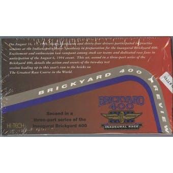 1994 Hi-Tech Brickyard 400 Preview Racing Box