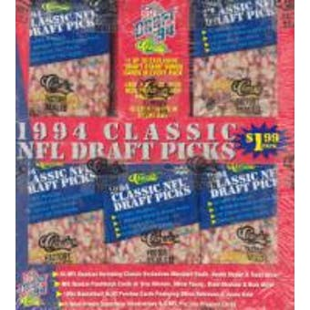 1994 Classic Draft Picks Football Jumbo Box