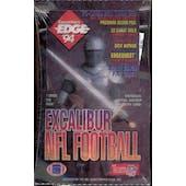 1994 Collector's Edge Excalibur Football Hobby Box