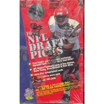 1994 Classic Draft Picks Football Hobby Box