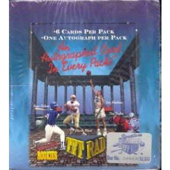 1994 Signature Rookies Tetrad Hobby Box
