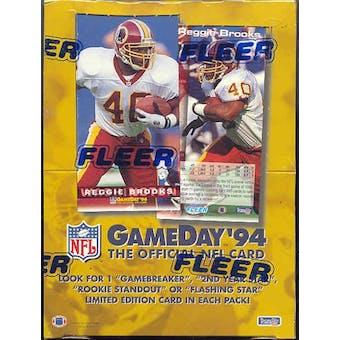 1994 Fleer Game Day Football Hobby Box