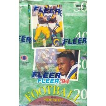 1994 Fleer Football Hobby Box