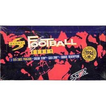 1994 Score Football Hobby Box