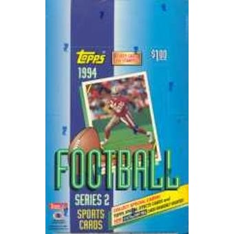 1994 Topps Series 2 Football Hobby Box