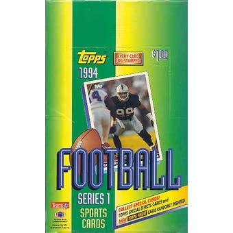 1994 Topps Series 1 Football Hobby Box