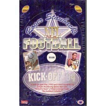 1994 Ted Williams Roger Staubach's NFL Football Hobby Box (Reed Buy)