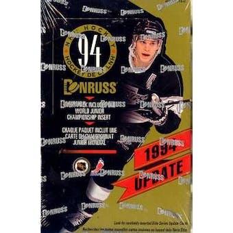 1993/94 Donruss Update Hockey Hobby Box