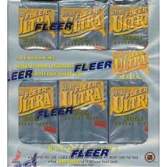 1994/95 Fleer Ultra Series 1 Hockey Jumbo Box