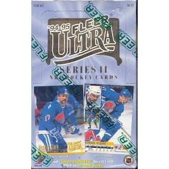 1994/95 Fleer Ultra Series 2 Hockey Hobby Box