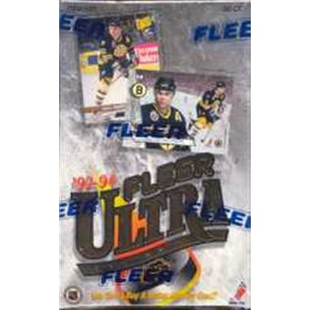 1993/94 Fleer Ultra Series 1 Hockey Hobby Box