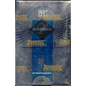 1994/95 Leaf Limited Hockey Hobby Box