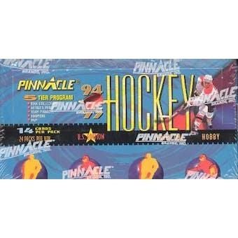 1994/95 Pinnacle Series 1 Hockey Hobby Box