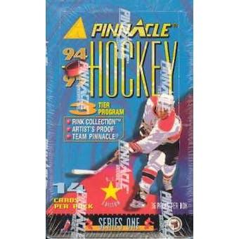 1994/95 Pinnacle Series 1 Hockey 36 Pack Box