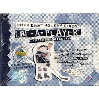 1994/95 Upper Deck Be A Player Hockey Hobby Box