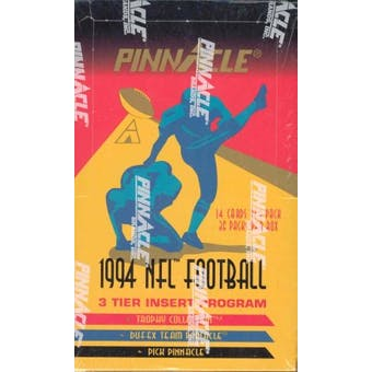 1994 Pinnacle Football Jumbo Box