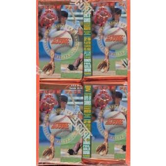 1994 Score Series 2 Baseball Jumbo Box