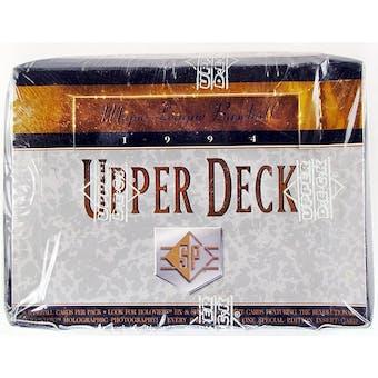 1994 Upper Deck SP Baseball Hobby Box