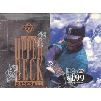 1994 Upper Deck Series 2 Baseball Jumbo Box