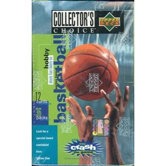 1995/96 Upper Deck Collector's Choice Series 2 Basketball Hobby Box