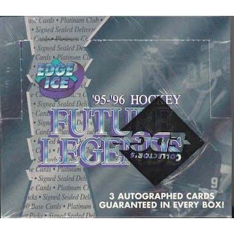 1995/96 Collector's Edge Ice Future Legends Hockey Wax Box