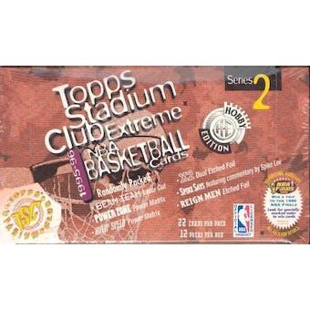 1995/96 Topps Stadium Club Series 2 Basketball Jumbo Box