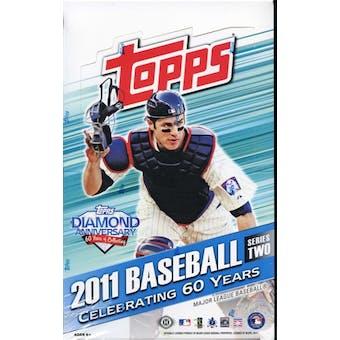 2011 Topps Series 2 Baseball Hobby Box