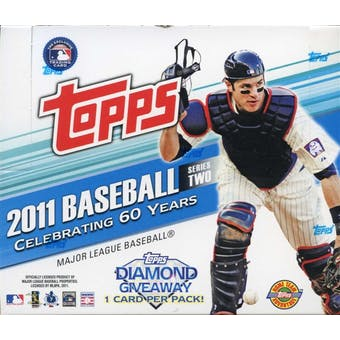 2011 Topps Series 2 Baseball Jumbo Box