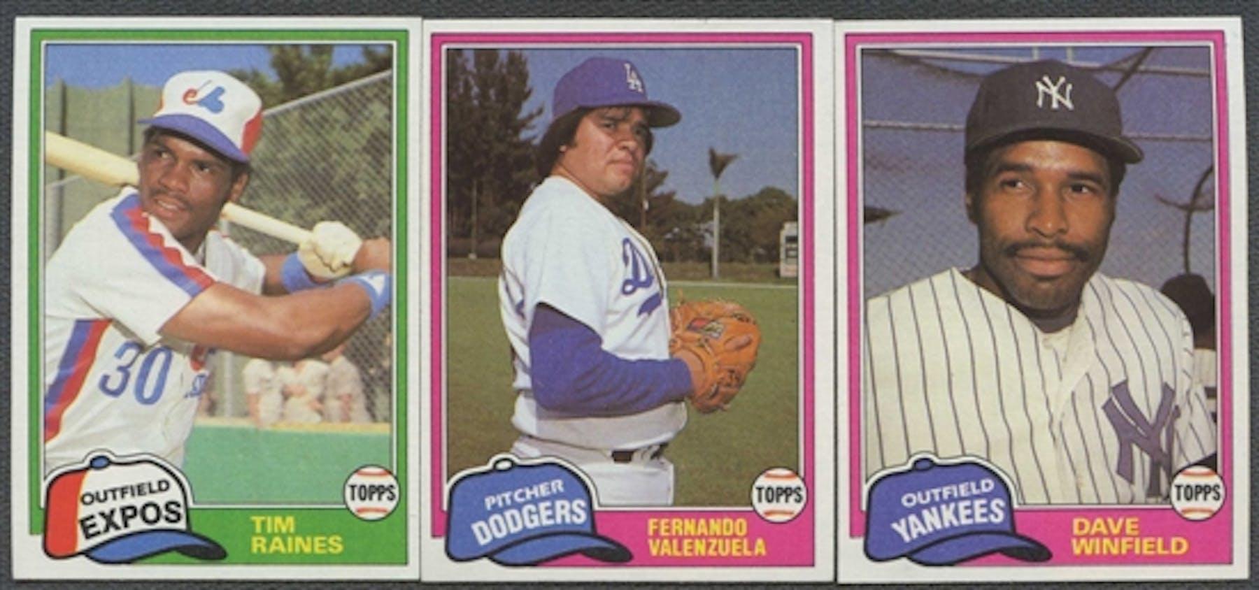 1981 Topps Traded Rookies Baseball Complete Set Da Card World