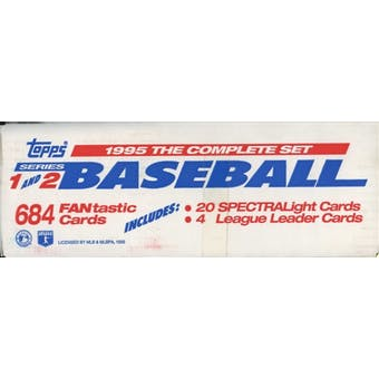 1995 Topps Series 1 & 2 Baseball Factory Set