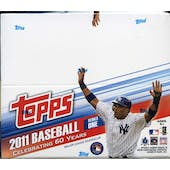 2011 Topps Series 1 Baseball 24-Pack Box (Reed Buy)