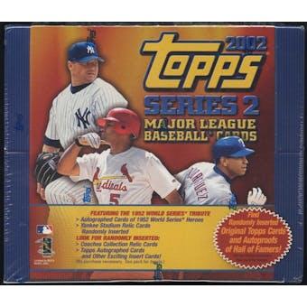 2002 Topps Series 2 Baseball 24 Pack Box