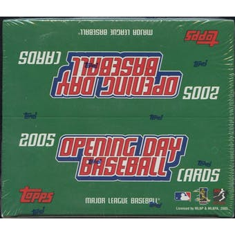 2005 Topps Opening Day Baseball 36 Pack Box
