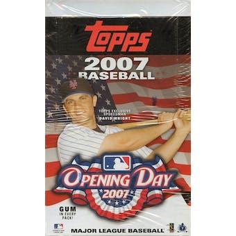 2007 Topps Opening Day Baseball 36 Pack Box