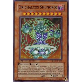 Yu-Gi-Oh Promo Single Orichalcos Shunoros Ultra Rare JUMP-EN035