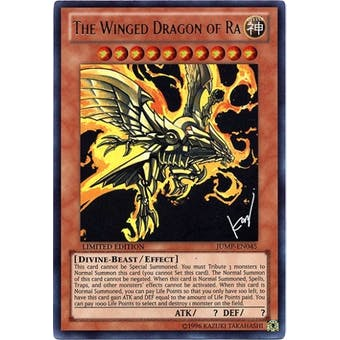 Yu-Gi-Oh Promo Single The Winged Dragon of Ra Ultra Rare (JUMP-EN045)