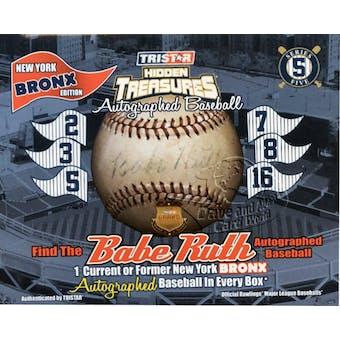 2011 TriStar Bronx Edition Series 5 Baseball Hobby Box