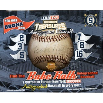 2011 TriStar Bronx Edition Series 5 Baseball Hobby Box