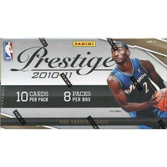 2010/11 Panini Prestige Basketball 8-Pack Box