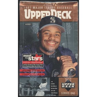 1997 Upper Deck Series 1 Baseball Hobby Box