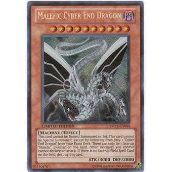 Yu-Gi-Oh Bonds Beyond Time Single Malefic Cyber End Dragon Secret Rare - NEAR MINT NM)